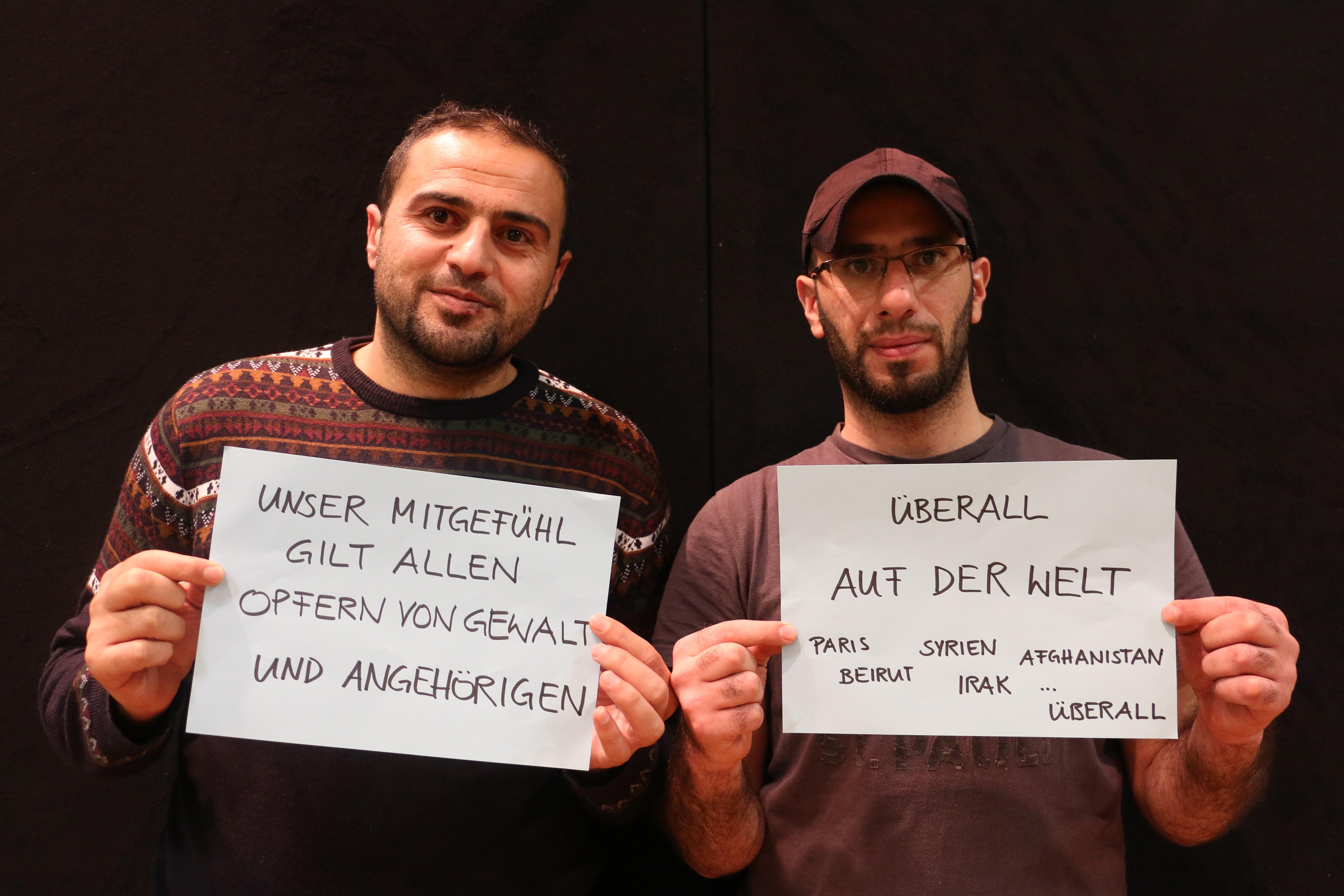 #refugeesforpeace