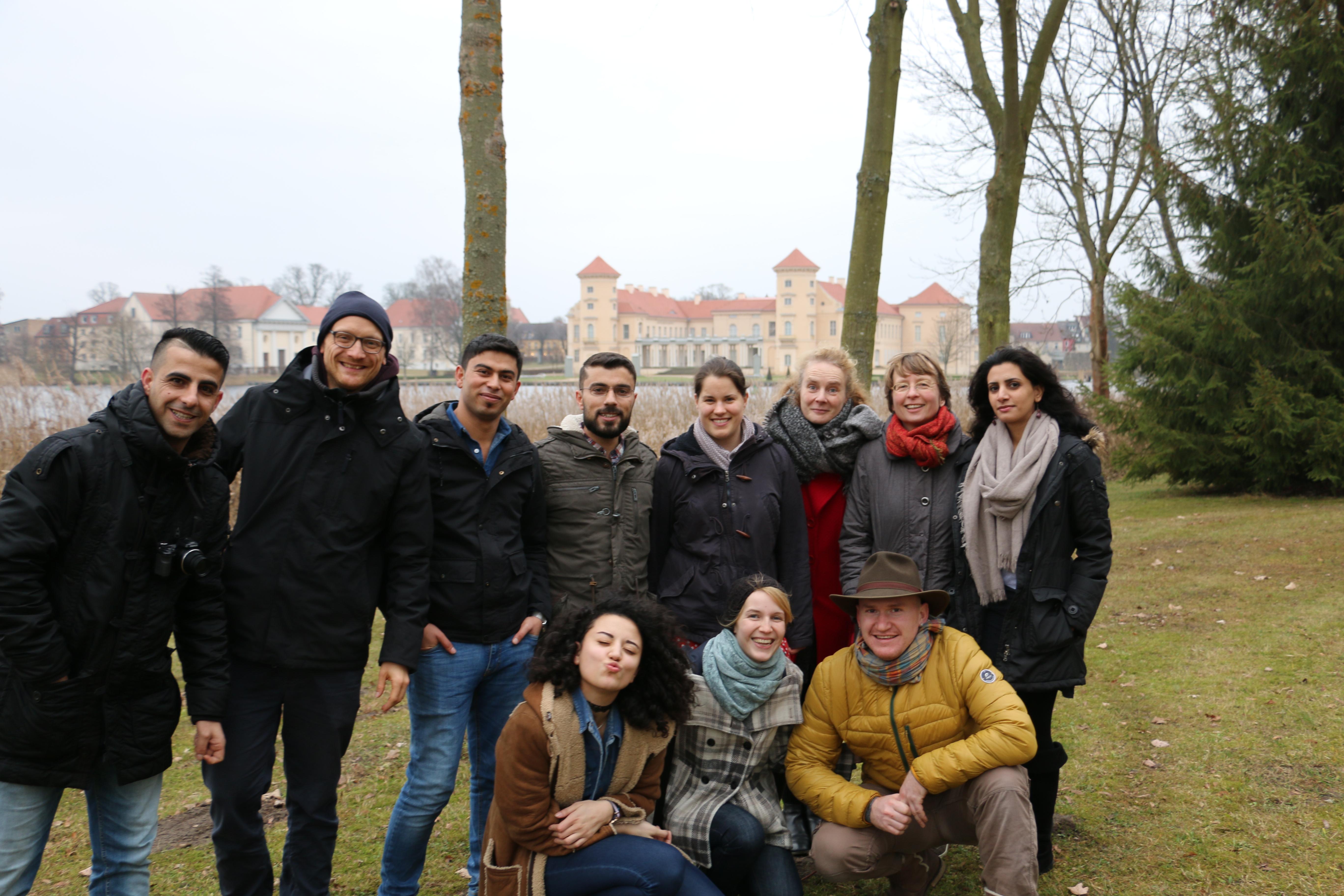 Spaziergang im Schlosspark