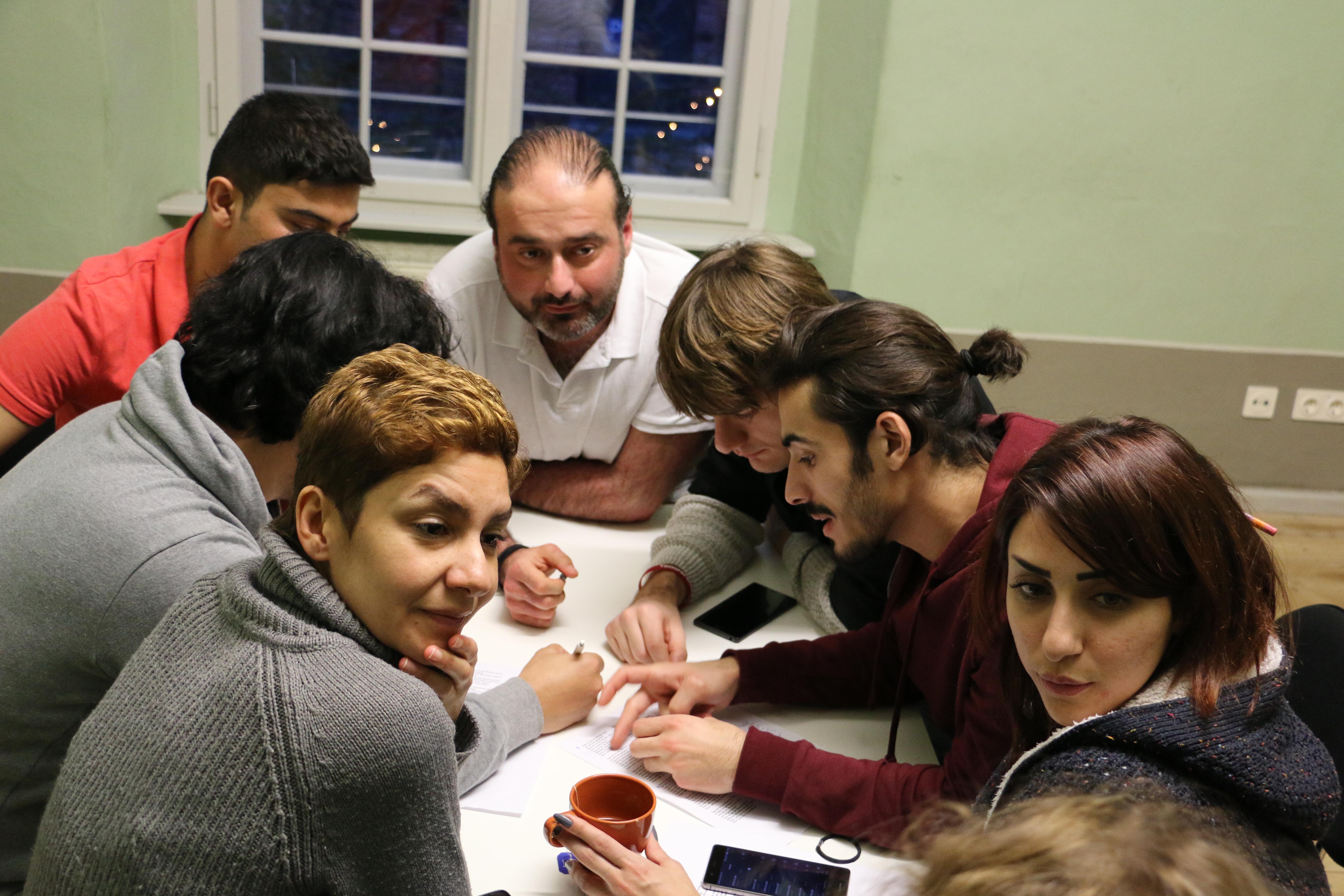 Kreativwerkstatt: Arabisch